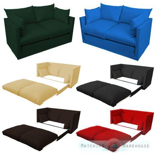 Stupendous Fold Out 2 Seat Sofa Guest Bed Futon Uk Made Budget Studio Machost Co Dining Chair Design Ideas Machostcouk