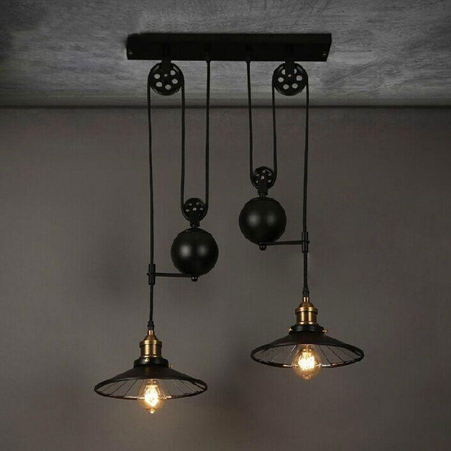 30 Lampadari in Stile Industriale in Vendita Online (con