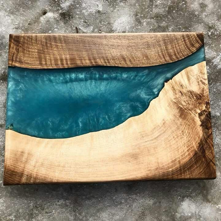 resin coffee table mold