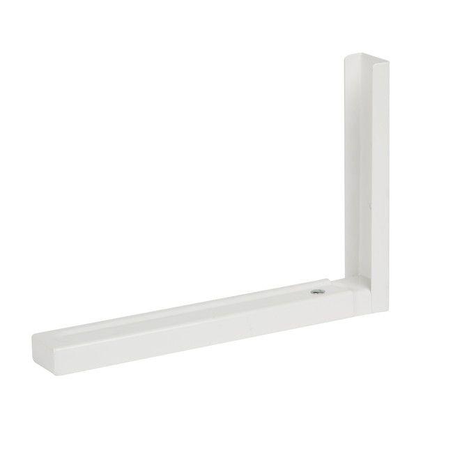 Wspornik Do Kuchenki Mikrofalowej Form 300 X 500 Mm 2 Szt Wsporniki I Uchwyty Do Polek White Microwave Lighted Bathroom Mirror Bracket