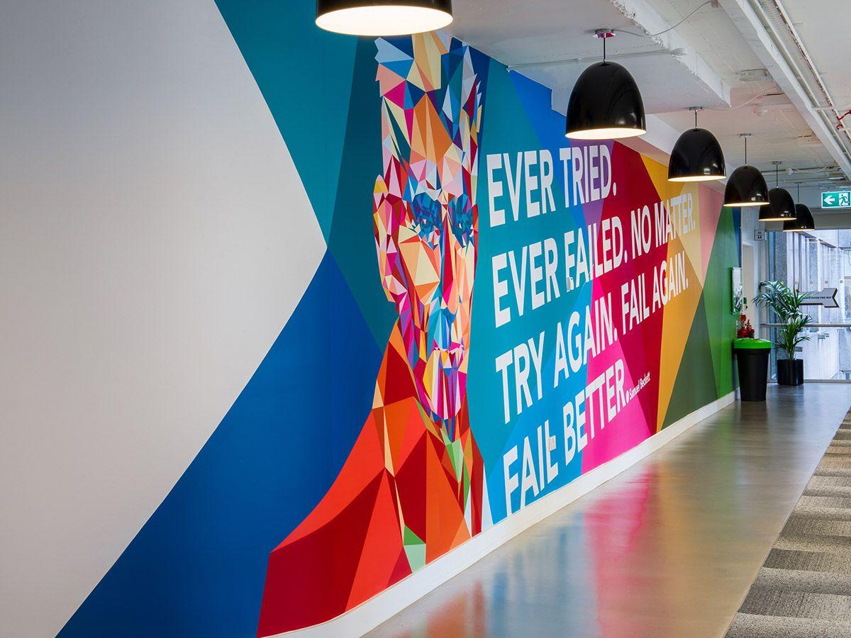 Wall Graphic Designs Lovely Design Wayfinding Linkedin