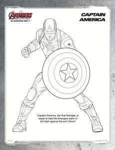 Free Printable Avengers Age Of Ultron Coloring Sheets Hispana Global Captain America Coloring Pages Avengers Coloring Avengers Coloring Pages