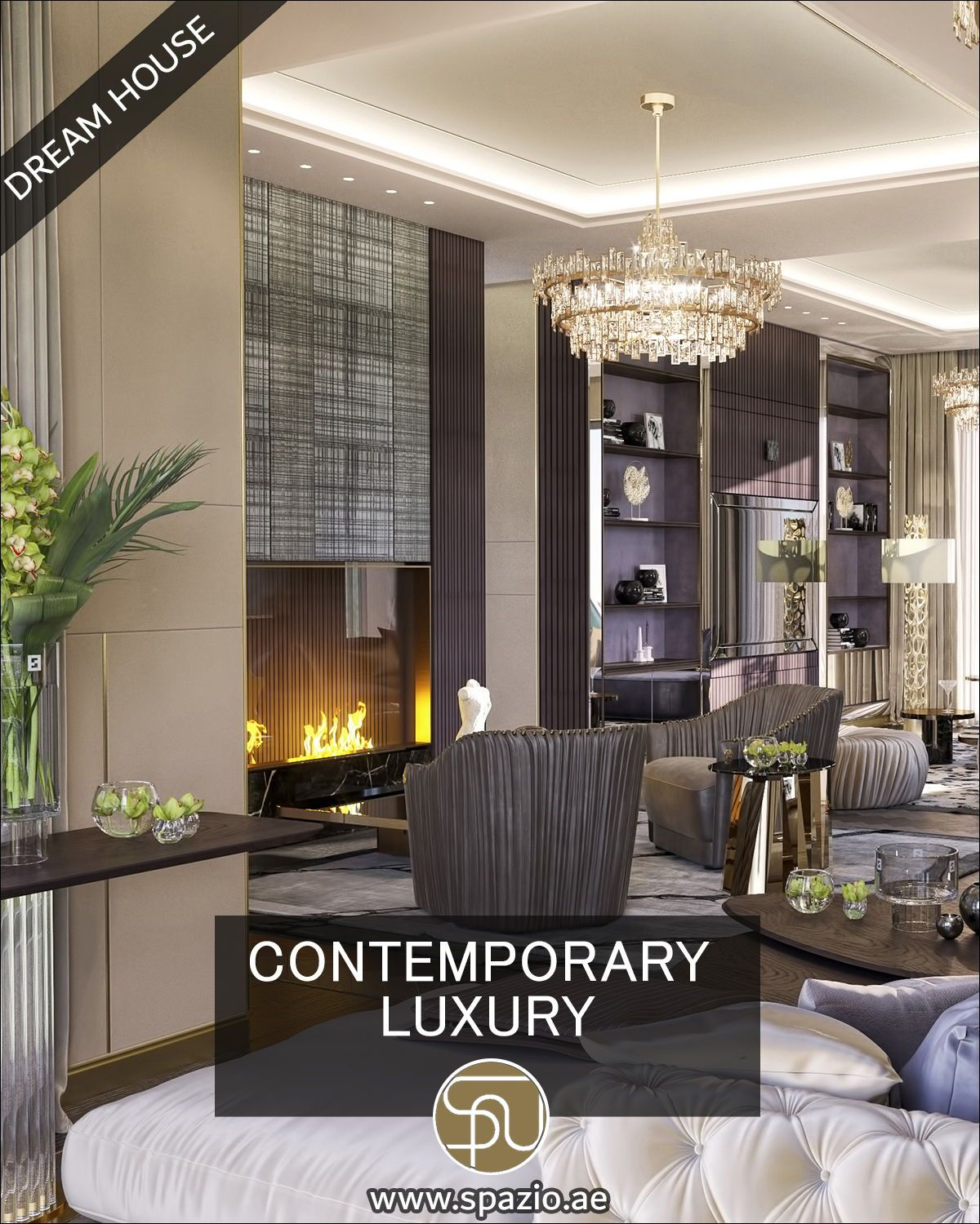 High End Homes Living Room Interior Design Video For Your Inspiration In 2020 Luxury House Interior Design Interior Design Videos Contemporary Interior Design