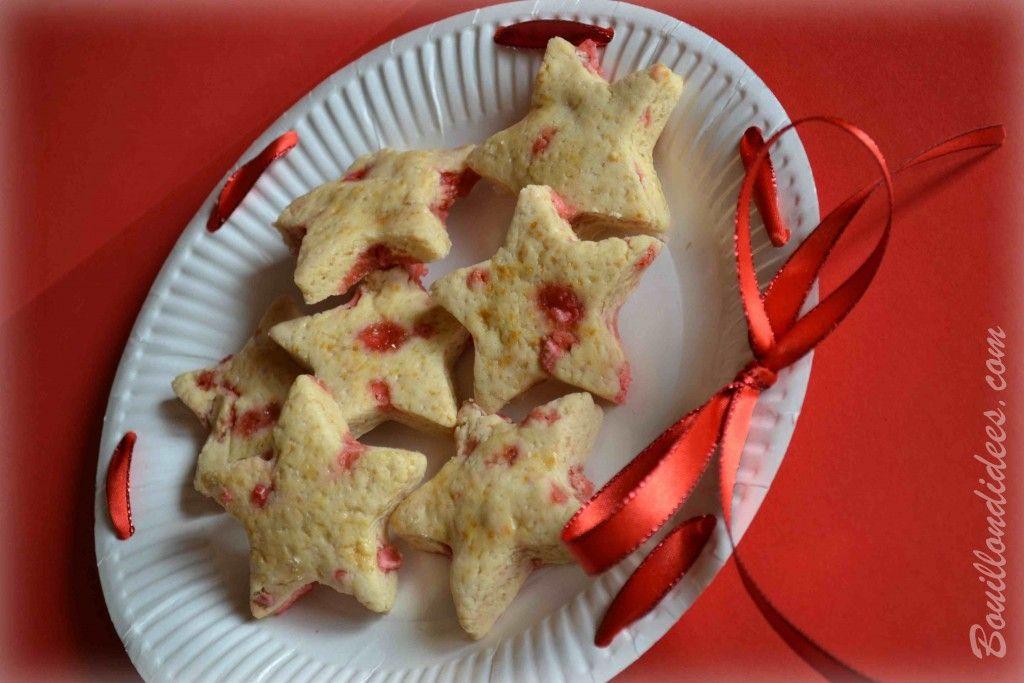 Sablés de Noël aux pralines, sans GLO (sans gluten, sans lait - sans PLV sans lactose, sans oeuf)