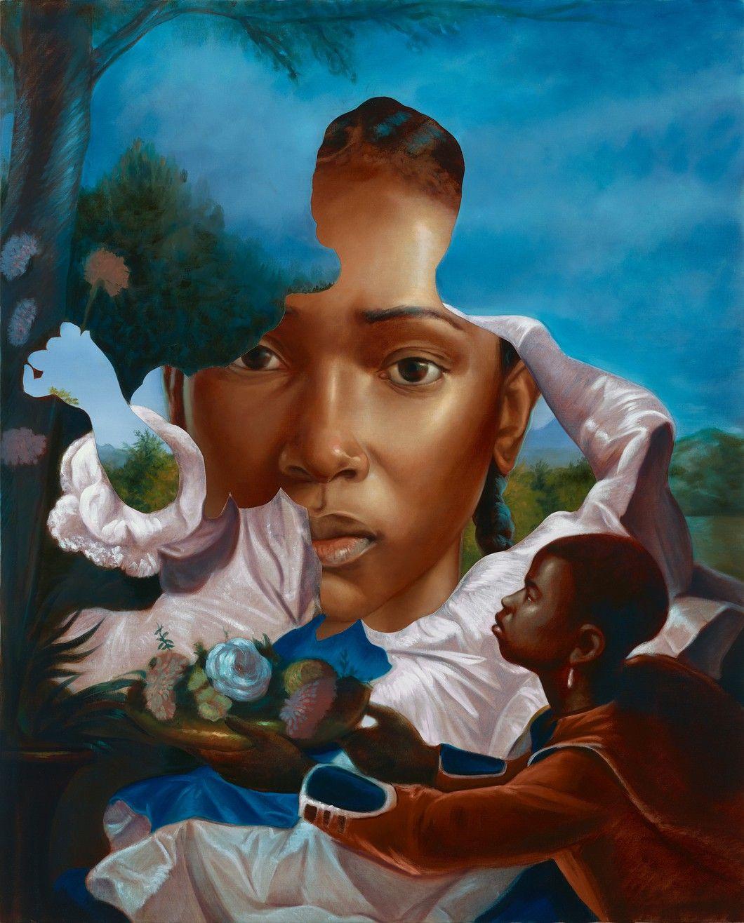 Titus Kaphar Gagosian in 2020 African american art