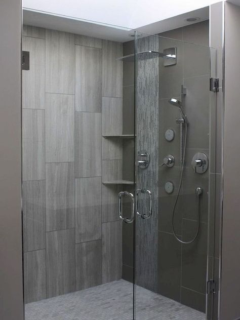 120 Stunning Bathroom Tile Shower Ideas (38)