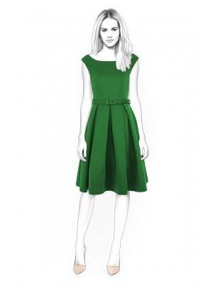 Lekala 4400 - Kleid PDF Muster, Nähmuster PDF, Maßgeschneiderte ...