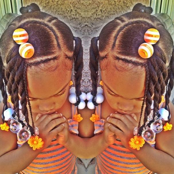 Fabulous 1000 Images About Natural Kids On Pinterest Cornrows Kid Short Hairstyles Gunalazisus