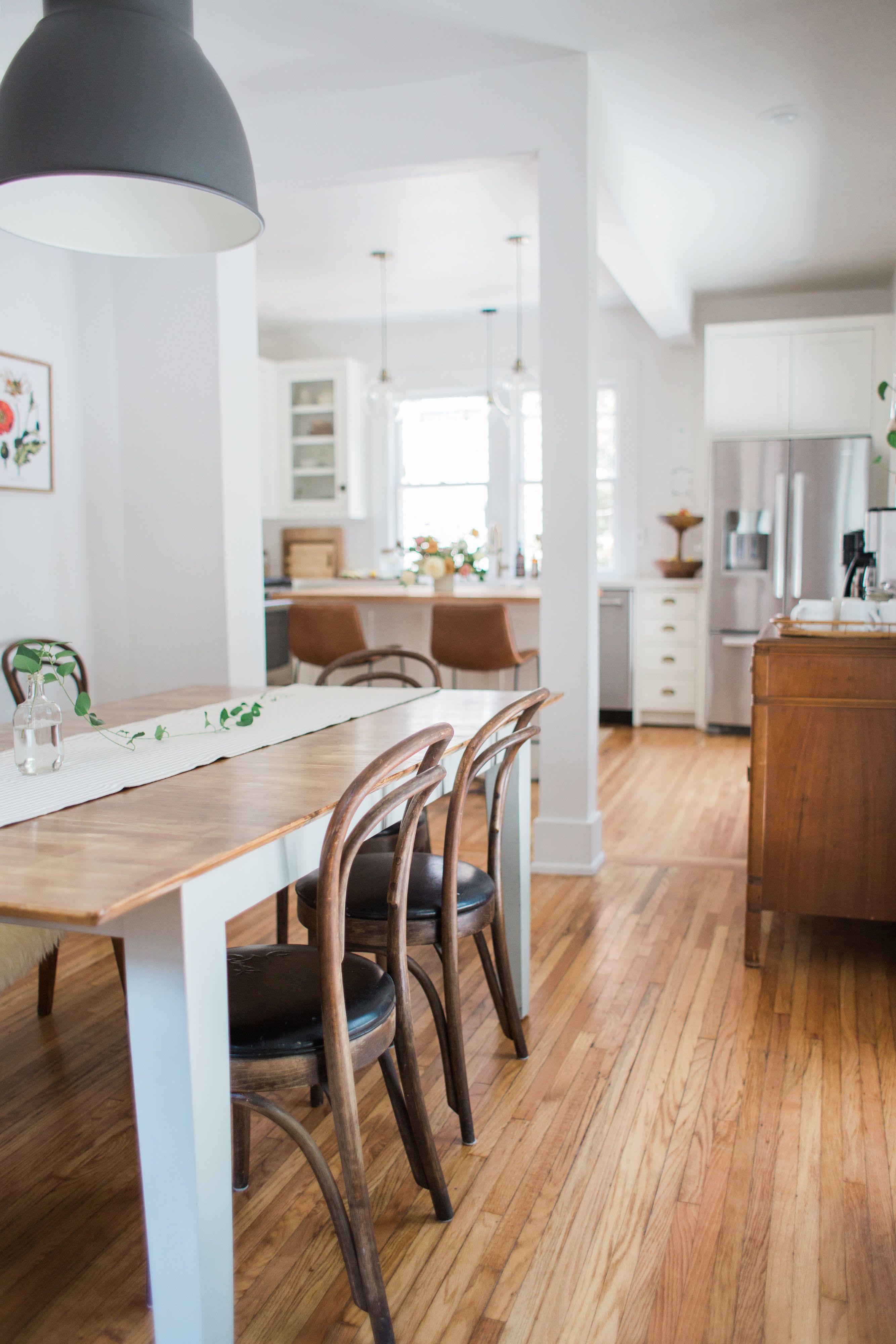 Before After A 1920s Kit House Gets A Modern Makeover Kit Homes Dining Room Design Home Remodeling