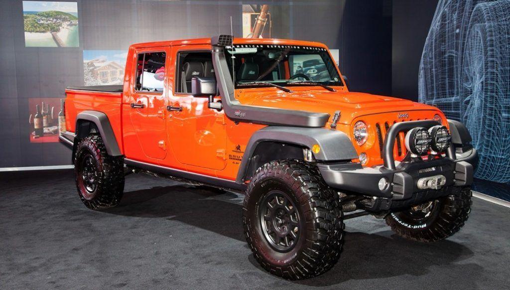 2019 Jeep Wrangler Pickup, Wagoneer | Car on the road ...