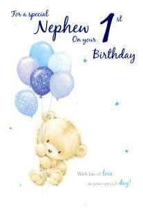 Nephew 1st Birthday Icg Http Www Amazon Co Uk Dp B00s1pka2o Ref Cm Sw R Pi Dp K0mavb10vcc6q Happy Birthday Nephew Nephew Birthday Birthday