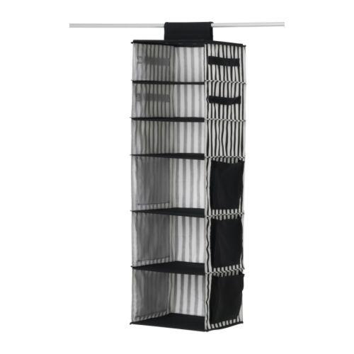 IKEAu0027s Malla Hanging Closet Organizer