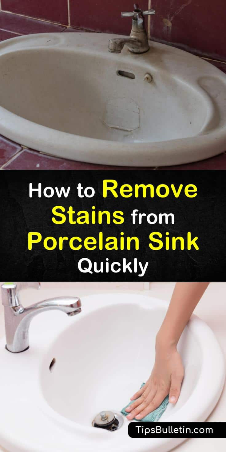 5 Incredible Ways to Remove Stains from a Porcelain Sink