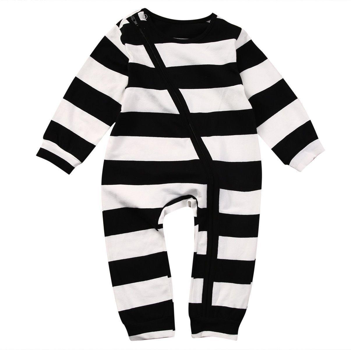 4a229a48871b 2017 new arrival Baby Boy Clothes Cotton Striped baby Romper long ...