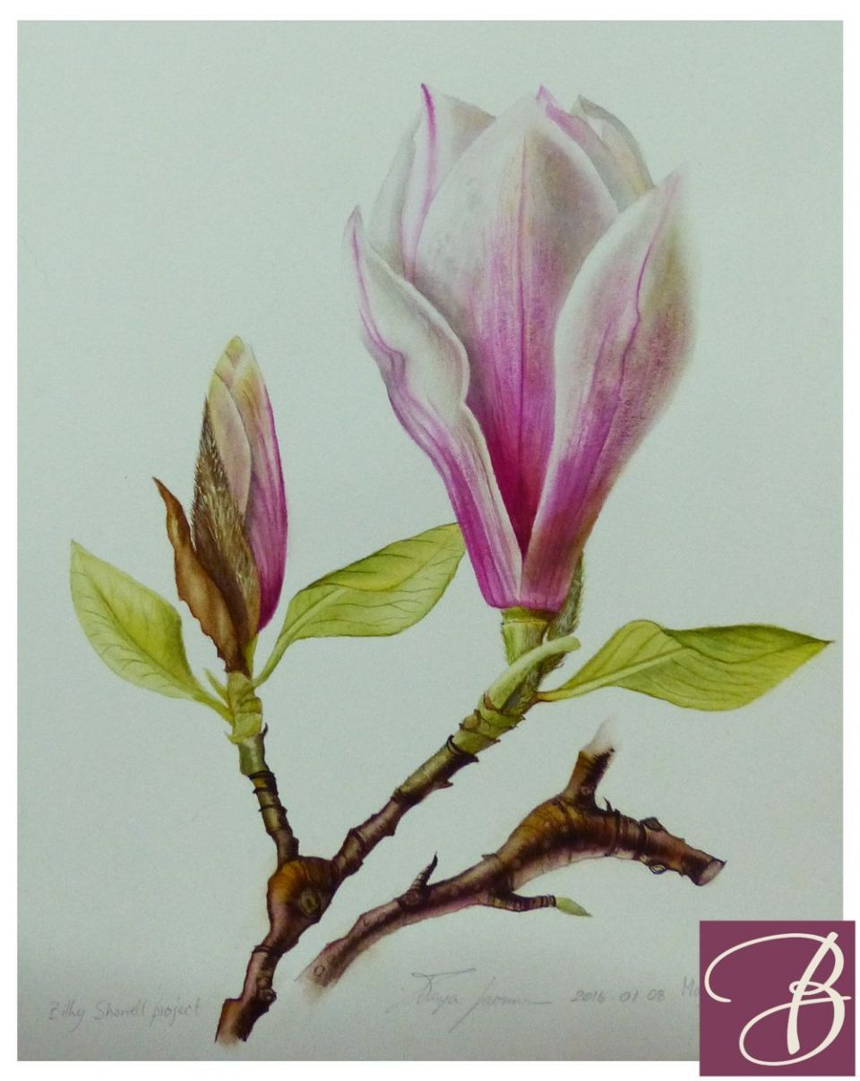404 Error Botanical Art Flower Painting