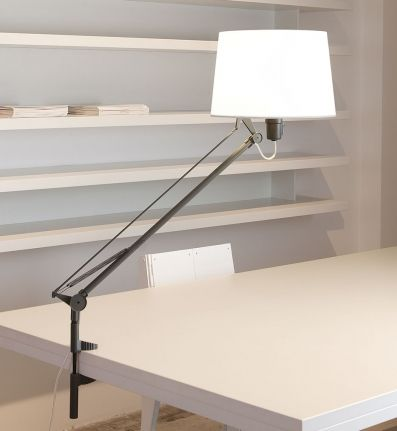 Carpyen - Lektor Clip On Desk Lamp #tasklighting