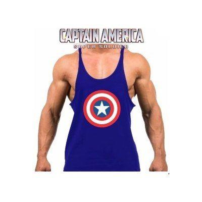 Camiseta Regata Super Cavada Musculação Capitão América 20% - América  Tático Aventura Artigos Militares Aventura Esportes Radicais e Camping. 6b5f17e2589