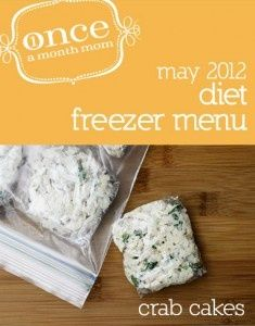 diet menu may 2012 once-a-month-cooking-recipes. Check this out soon and maybe the other months.