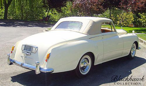 1959 Young Rolls-Royce Silver Cloud I Drophead Coupe Maintenance/restoration of old/vintage vehicles: the material for new cogs/casters/gears/pads could be cast polyamide which I (Cast polyamide) can produce. My contact: tatjana.alic@windowslive.com