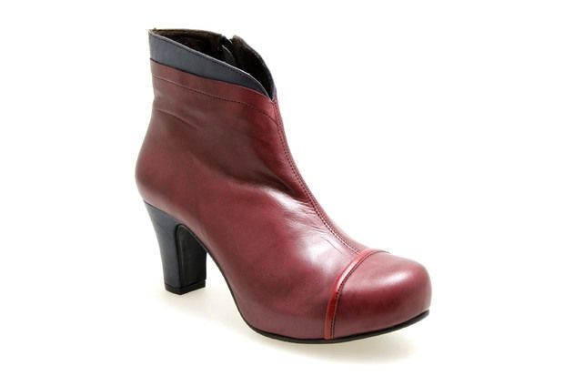 Marine 24224 Boots Moda Femme Rouge Virus Chaussures wXOTPiukZl