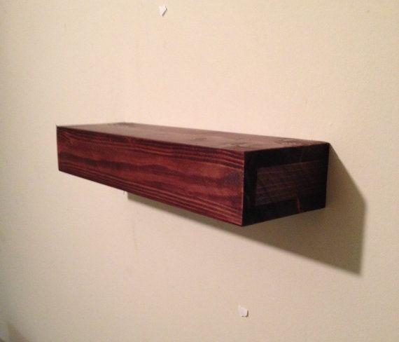 Check out this item in my Etsy shop https://www.etsy.com/listing/231757135/wood-floating-shelf-rustic-home-decor