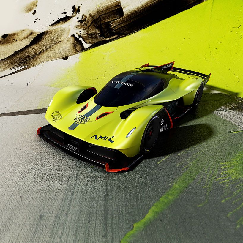 Aston Martin Valkyrie Amr Pro Hypercar Makes World Debut At Geneva