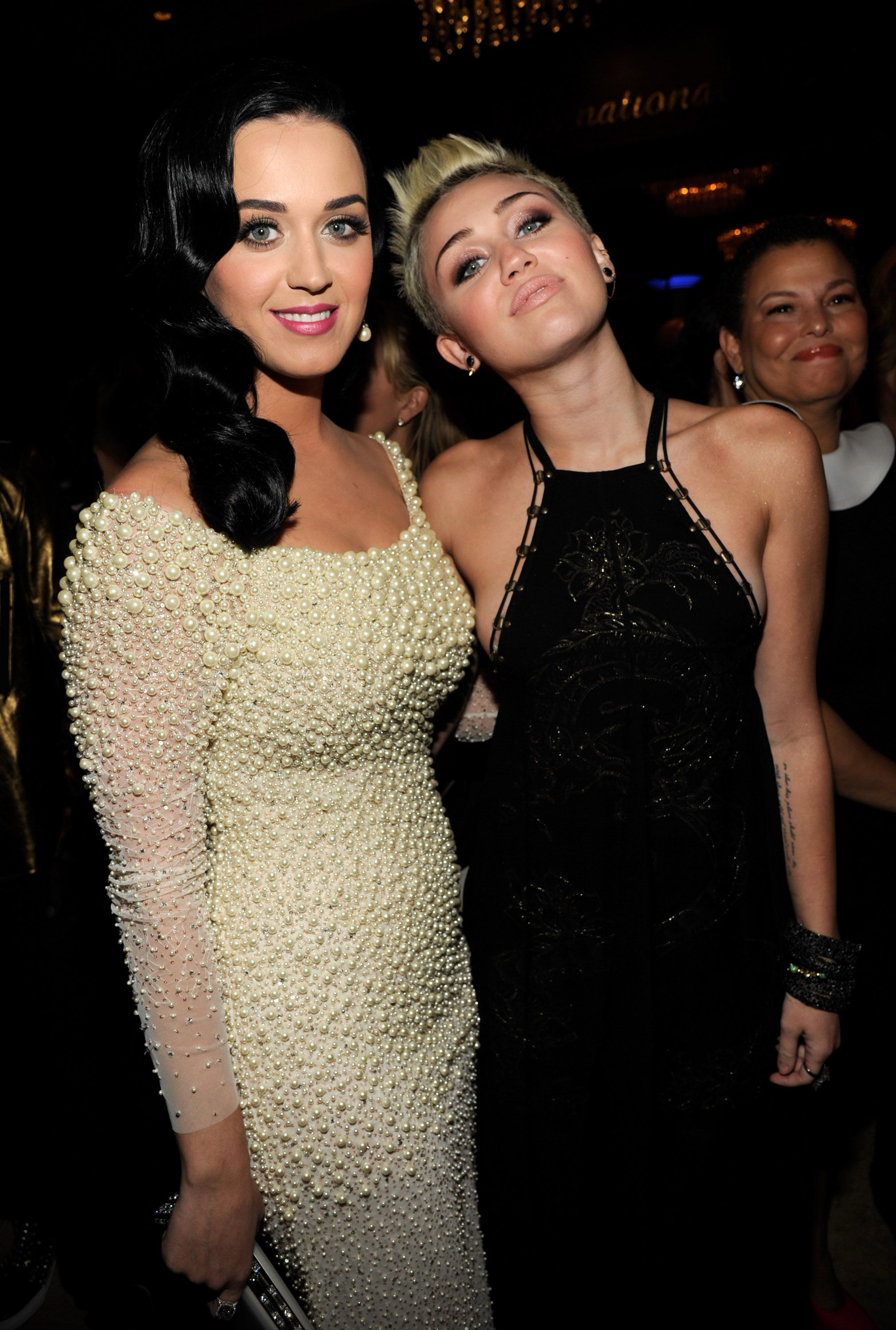 Katy Perry to Miley Cyrus: I'm Gonna Give You the Biggest Spanking'