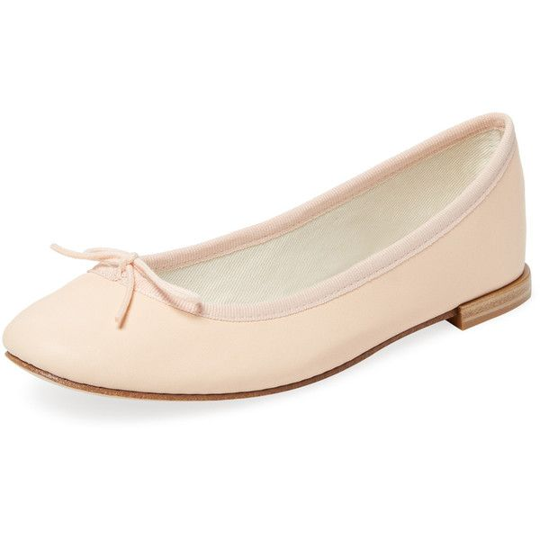 2be15abbf52f Repetto Women s Cendrillon Leather Ballet Flat - Light Pastel Pink ( 199) ❤  liked on Polyvore featuring shoes