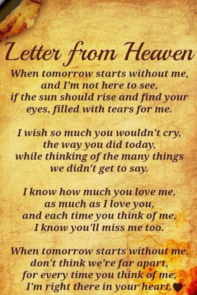 how much i miss you letter