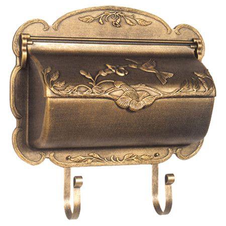 Duchess Wall Mounted Mailbox I Wall Mount Mailbox Mounted Mailbox Post Box Wall Mounted