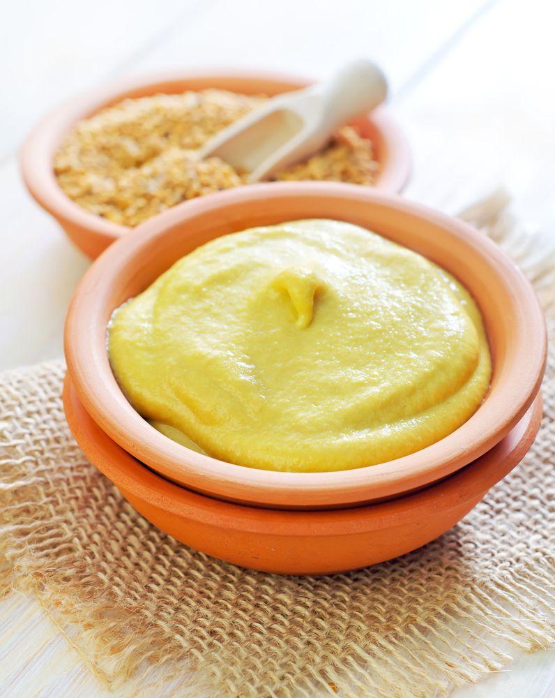 1/4 cup Dijon-style mustard