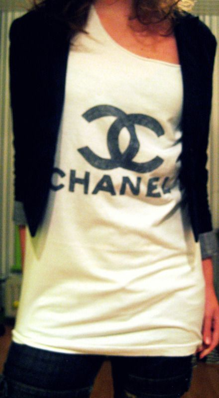 8984b17554bd0b Fake) Chanel Shirt! | Chanel Surfing | Chanel shirt, Chanel, Shirts