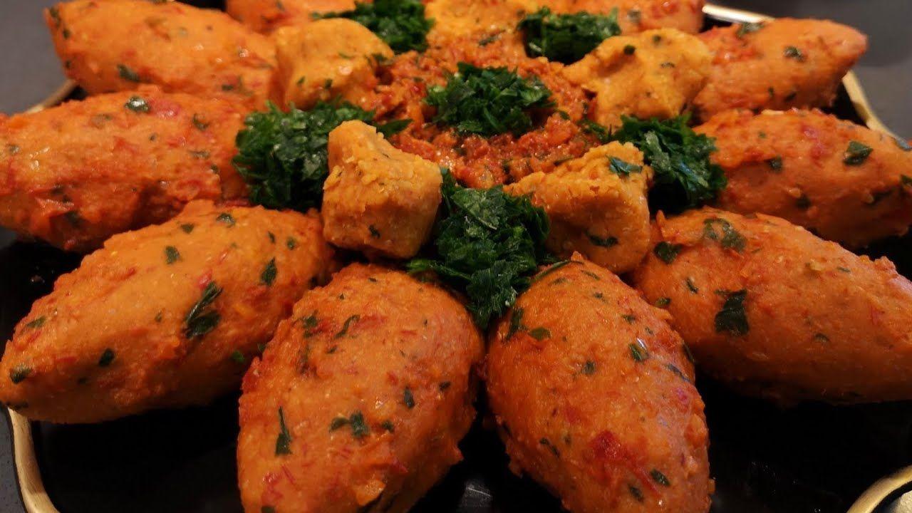 كبة عدس أكلة كردية تراثية مشهورة بمنطقتنا عفرين والقرى التابعة لحلب كتير طيبة وسهلة التحضير Youtube Potluck Recipes Mediterranean Recipes Food