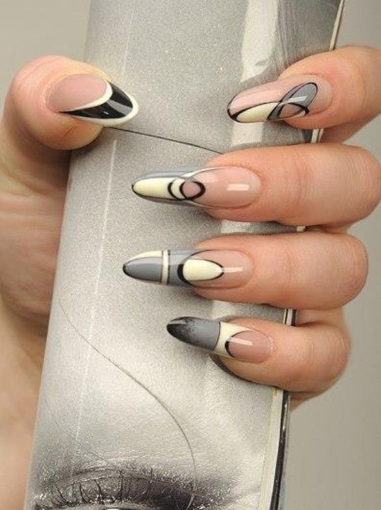 Abstract Nails Abstract Nail Art Crazy Nail Art And Crazy Nails