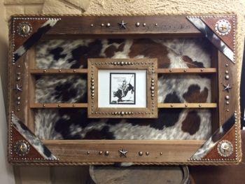 Custom Created Made To Order Beautiful Barnwood Award Buckle Display Case Here Is Fantastic