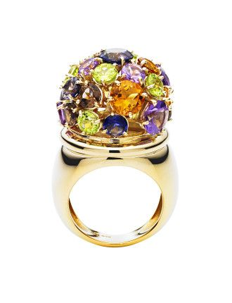 9ct Dome Juicy Lucy Ring