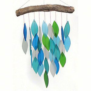 Wind Chimes Shimmering Waters Wind Chime Glass Waterfall Windchime Glass Wind Chimes Wind Chimes Glass Waterfall