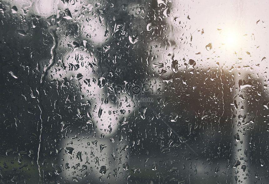قطرات الماء على النافذة في المطر Imagenes Instagram Gotas De Agua Instagram