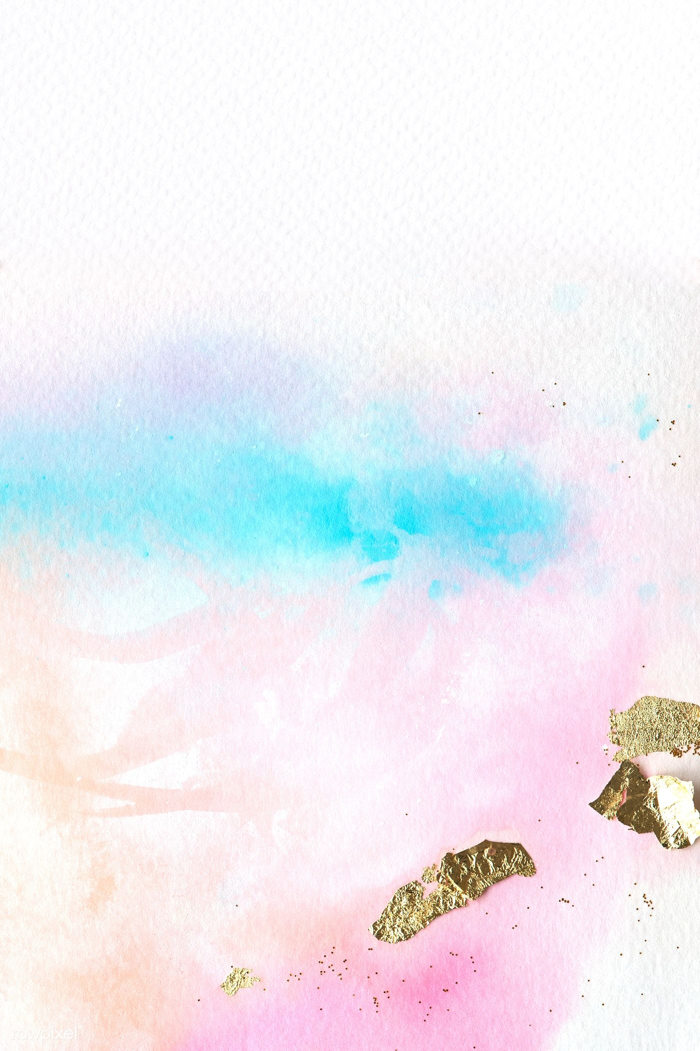 Colorful Abstract Watercolor Painting Background Free Image By