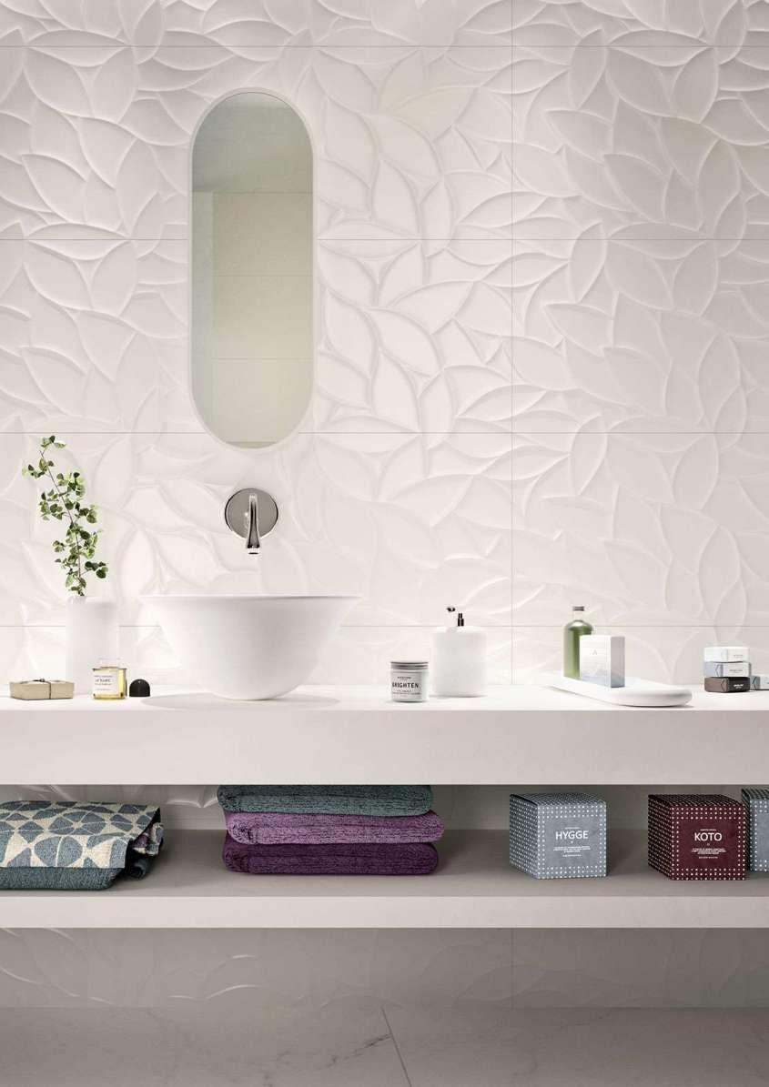 Piastrelle bagno moderno - Piastrelle bagno bianche Marazzi