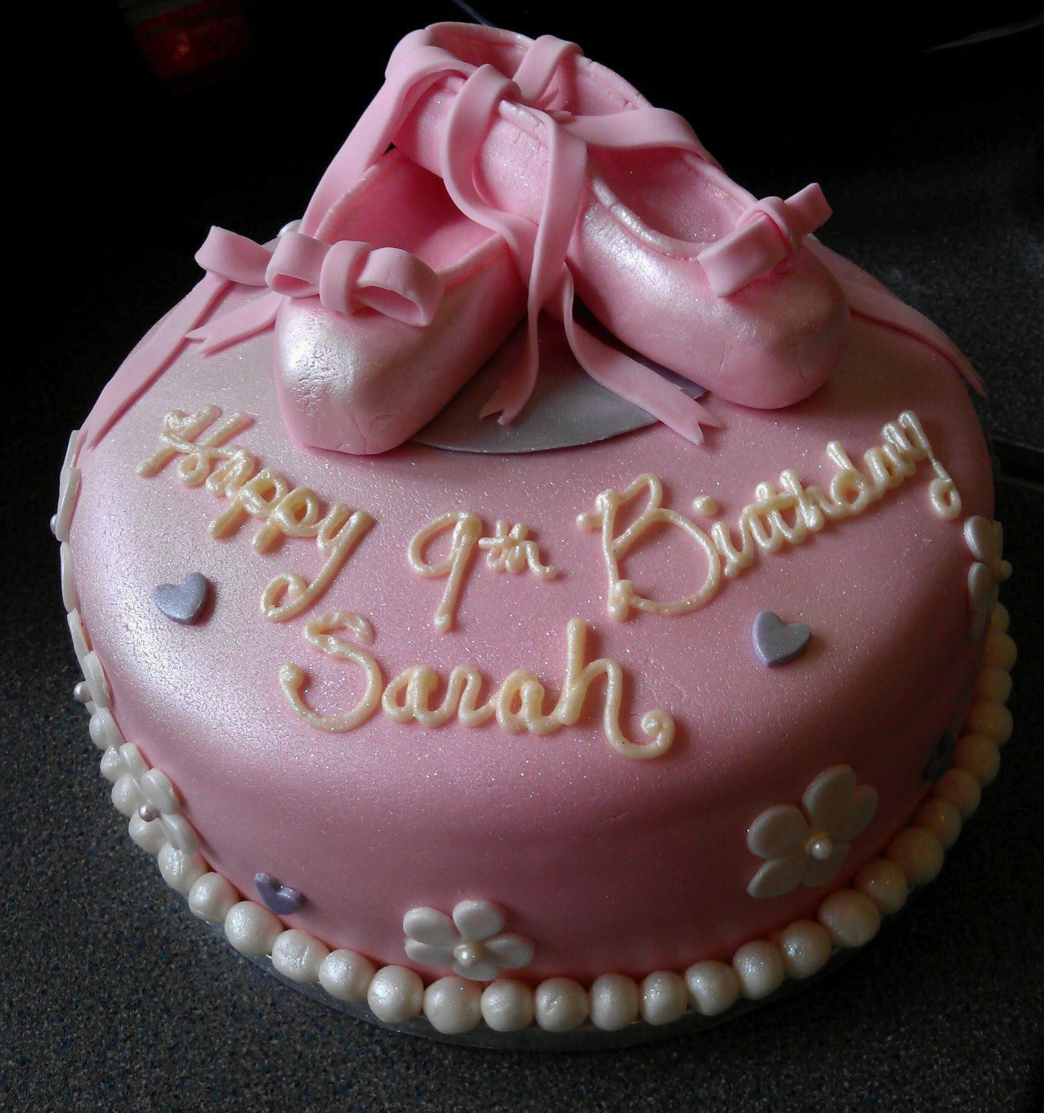 Ballet Cake Tutorial (with Fondant Ballerina Slippers