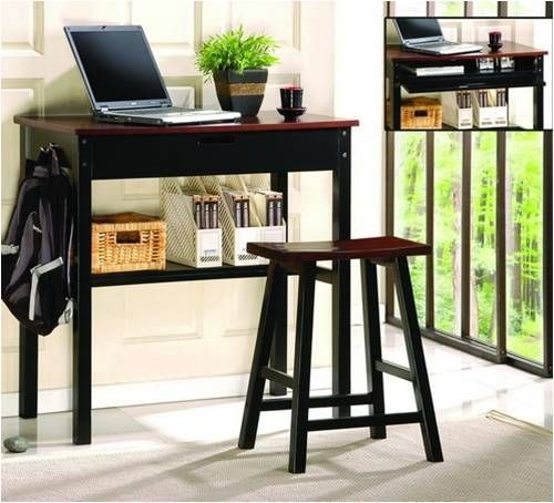 Harvard Desk & Stool Set $149. Available At JustCabinets