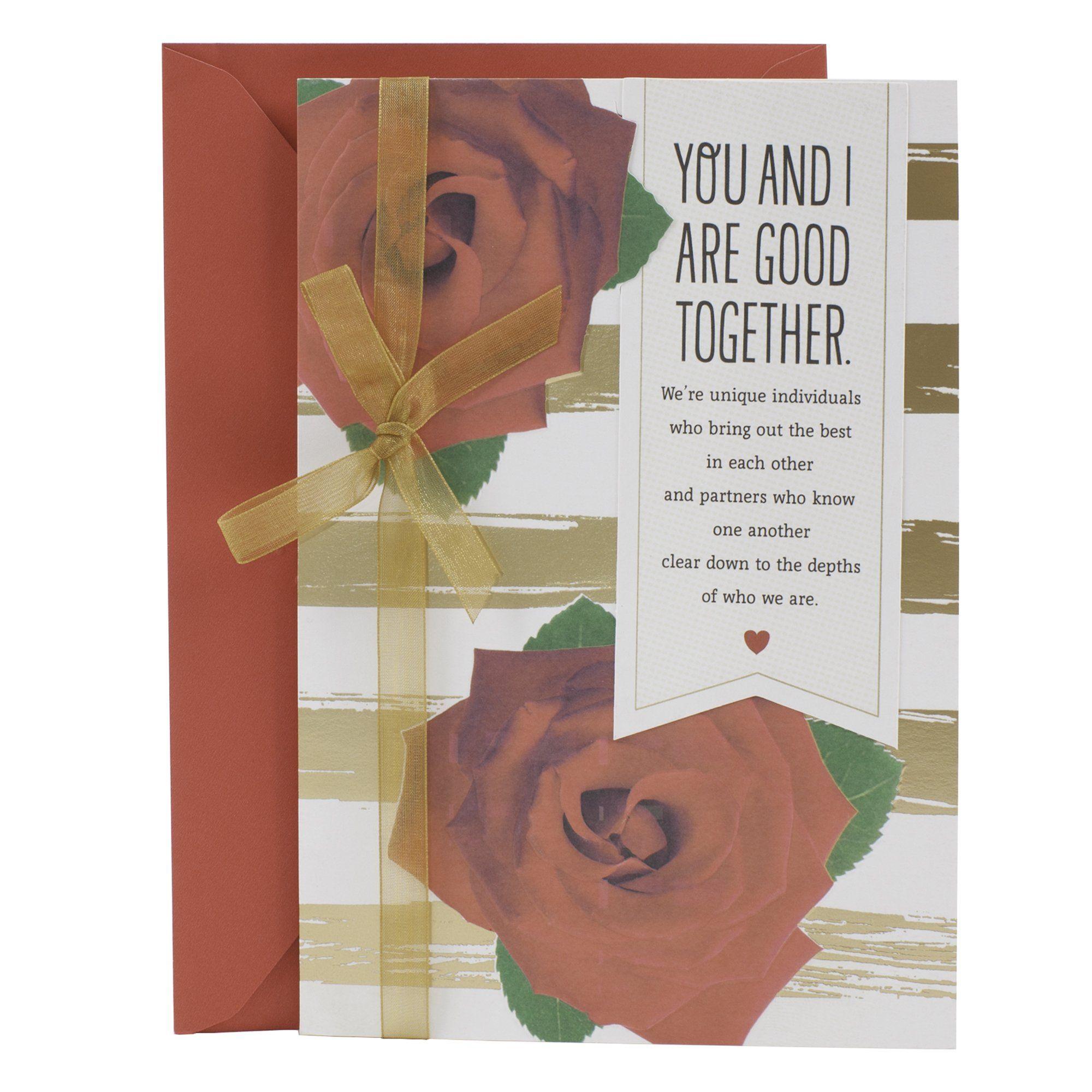 Hallmark 599vfe1136 mahogany valentines day greeting card