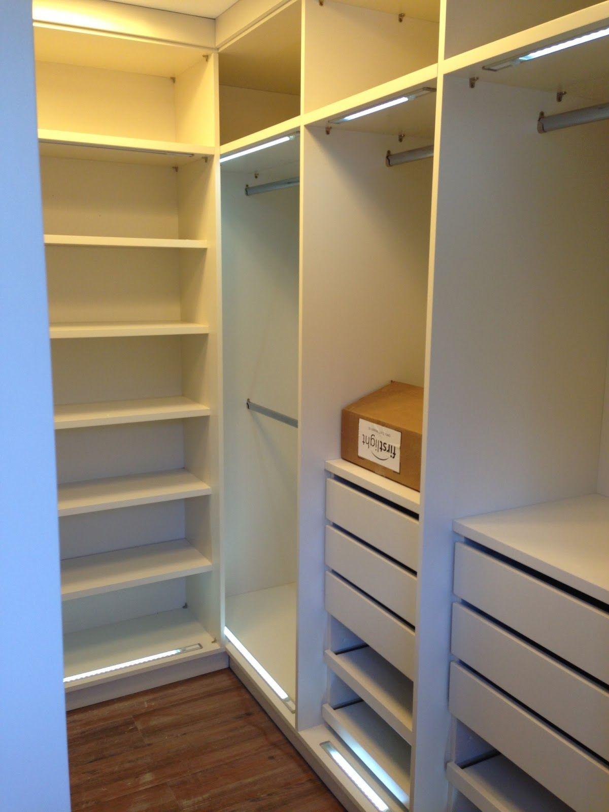 Closet... Sonhando com o 31... Armário reformado