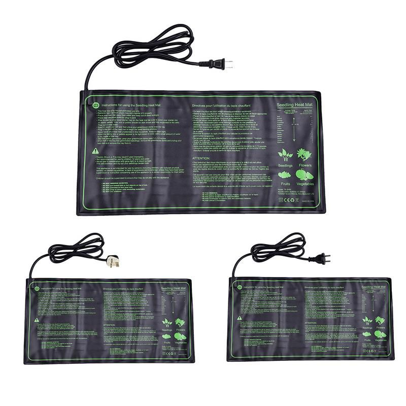 Seedling Heat Mats Plants Seeds Germination Propagation Clone Waterproof Gardens