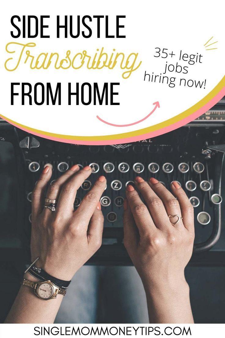 35+ Legit Online Transcription Jobs Remote From Home