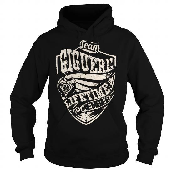 I Love Team GIGUERE Lifetime Member (Dragon) - Last Name, Surname T-Shirt T shirts