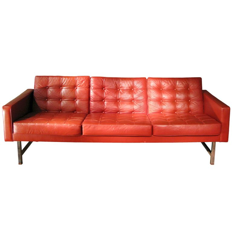 High Quality Very Comfortable U0026 Stylish 1970s Leather Sofa | From A Unique Collection Of  Antique And Modern