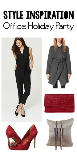 Gorgeous inspiration for what to wear to the Office Holiday Party from our stylist @elainewangyu.