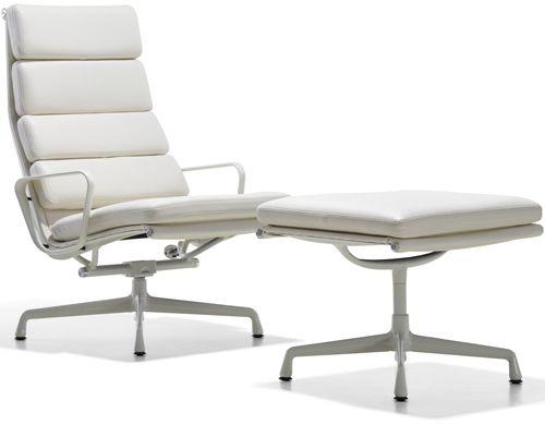 Eames Soft Pad Group Lounge Chair Ottoman Furniture Chair
